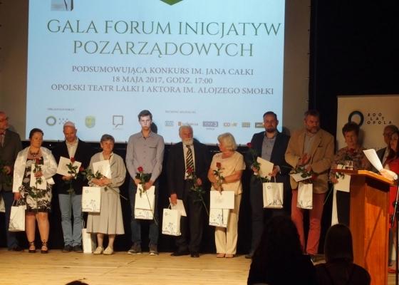 Gala Forum Inicjatyw Pozarządowych podsumowująca konkurs im. Jana Całki
