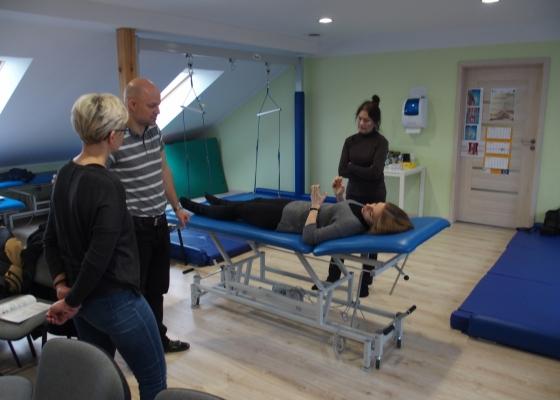 Szkolenie dla opiekunów - transfery pacjenta