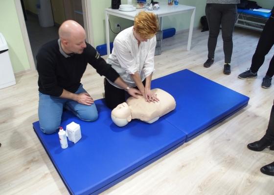 Szkolenie dla kadry - pierwsza pomoc