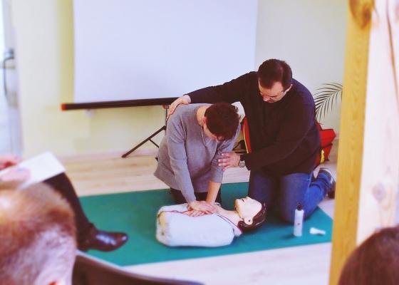 Szkolenie dla opiekunów osób starszych, niesamodzielnych - pierwsza pomoc