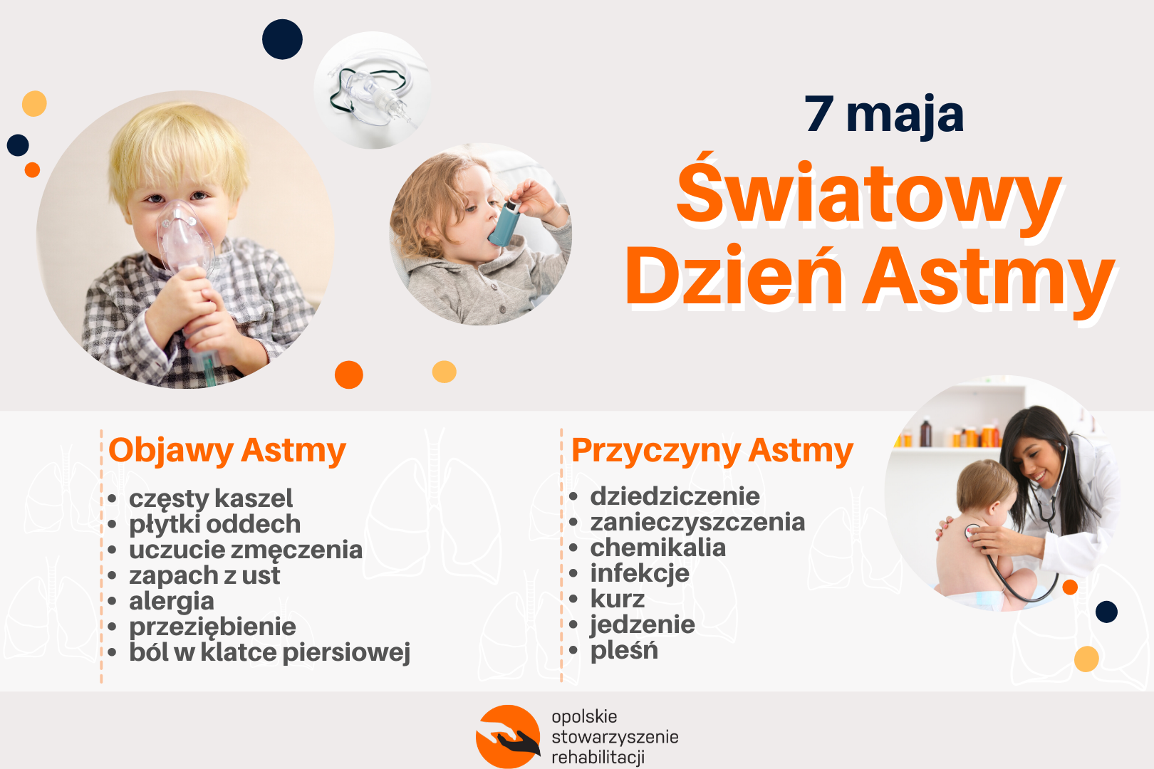 Światowy Dzień Astmy. Przyczyny i objawy.