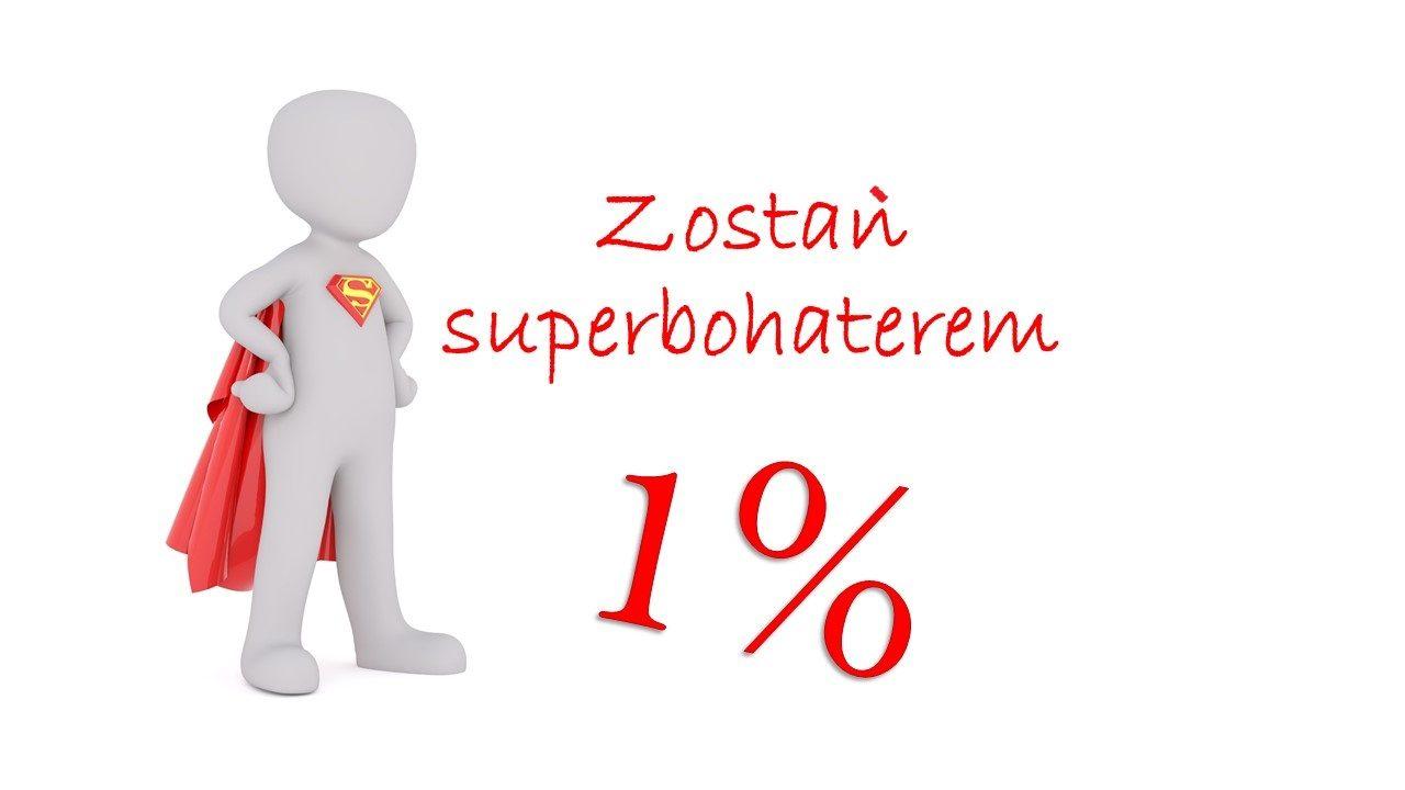 Superbohater 1%