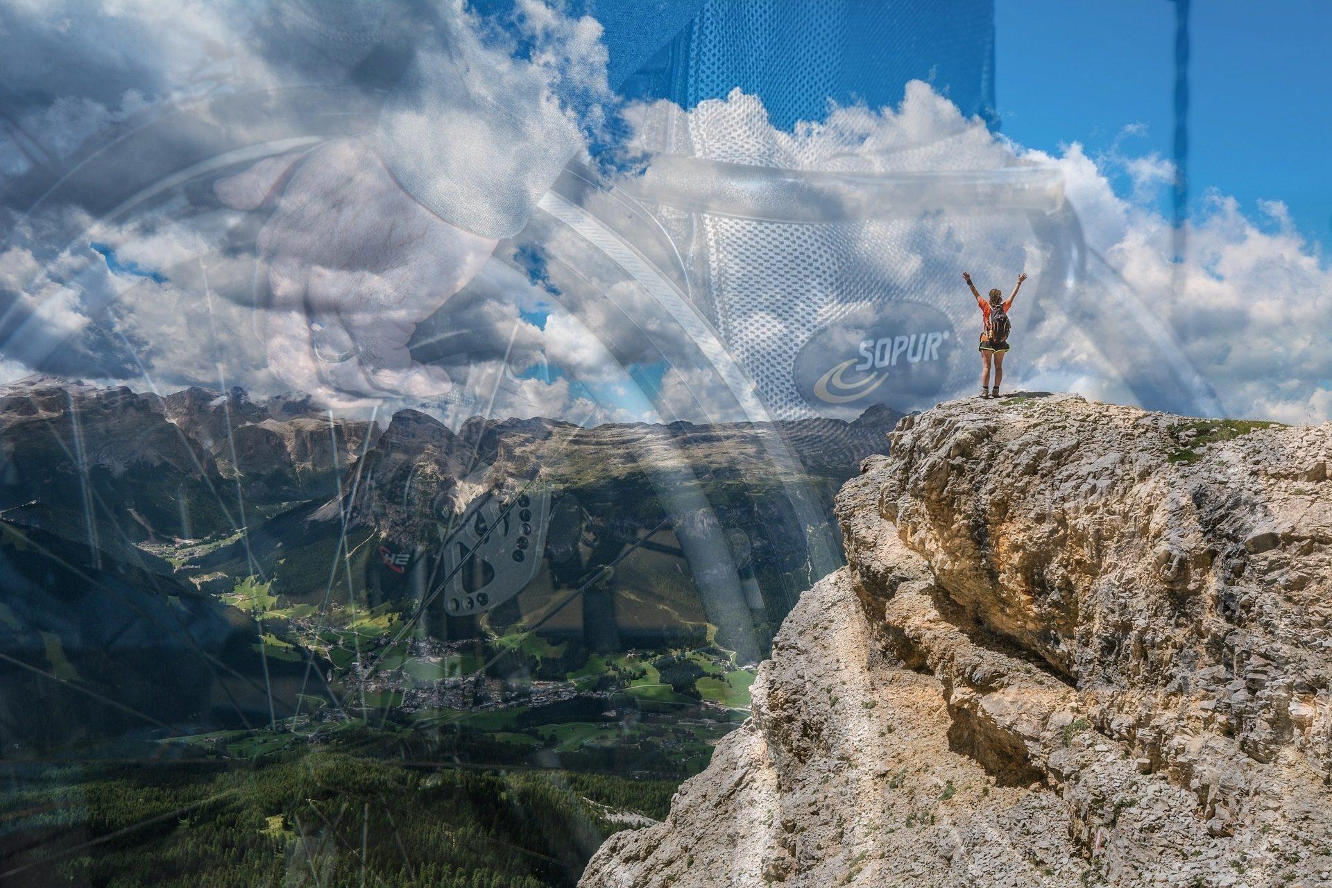 turystyka górska, turystyka na wozku inwalidzkim
