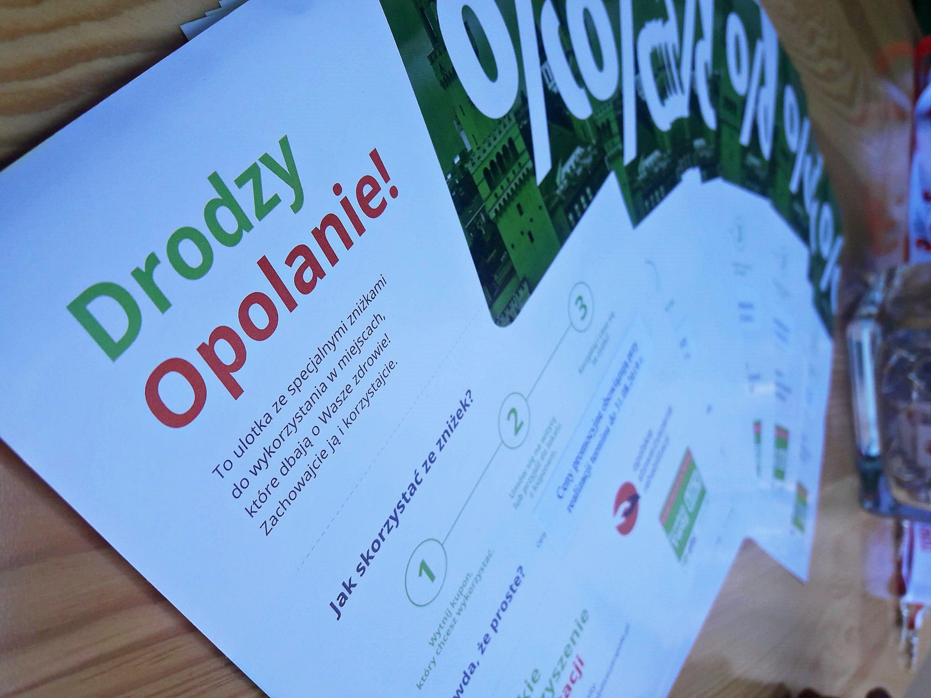 ulotka Opolskie Stowarzyszenie Rehabilitacji